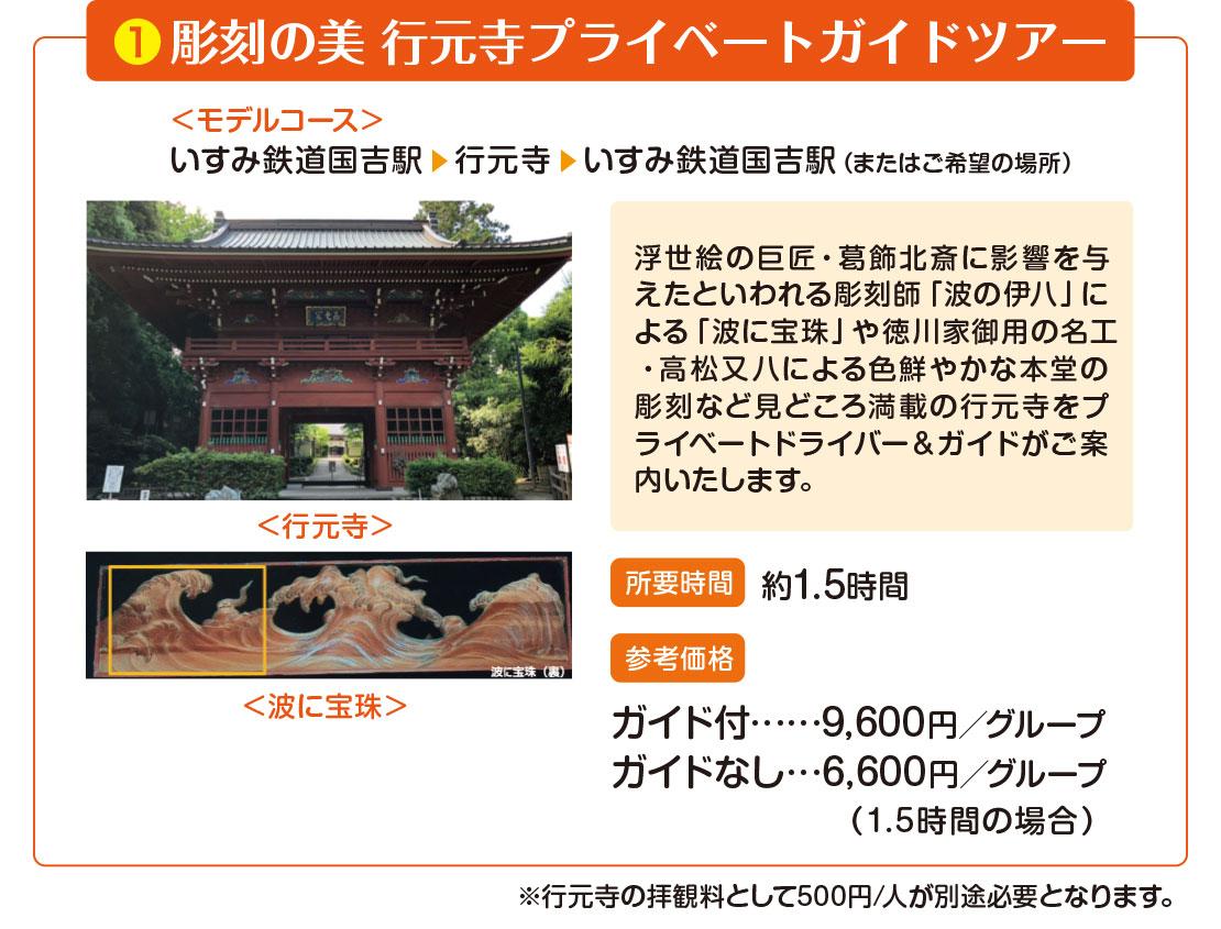 彫刻の美 行元寺プライベートガイドツアー
